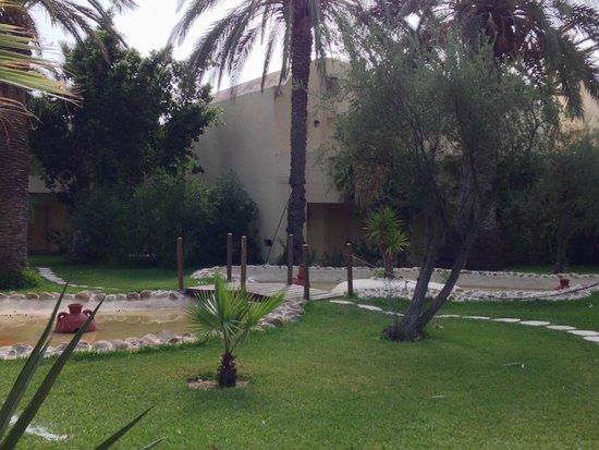 Hotel Paradis Palace : giardino
