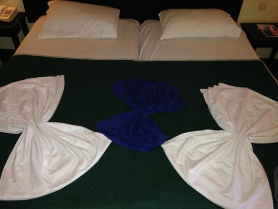 Hotel Paradis Palace : letto