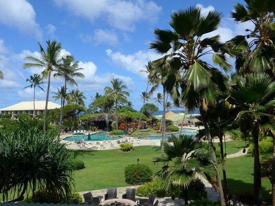 Kauai Beach Resort : Blick von unserem Balkon