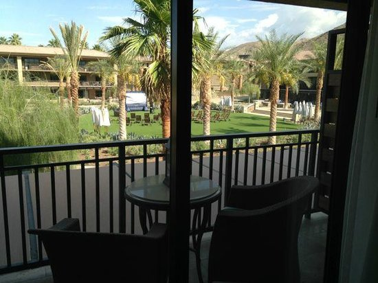 The Ritz-Carlton, Rancho Mirage: View seen from the room
