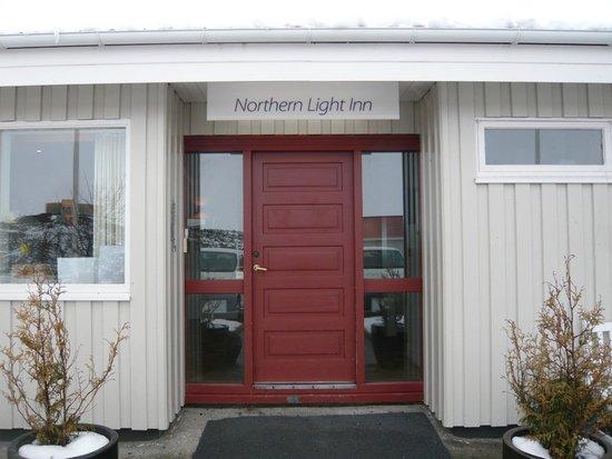 Northern Light Inn : ホテル入口