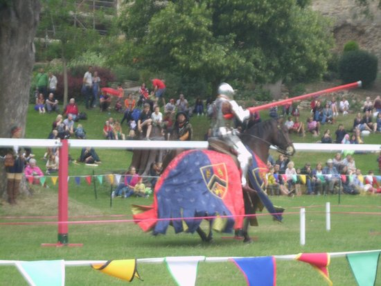 Lincoln Castle: The jousting was great!