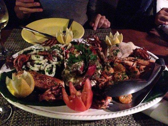 Restaurante Peixe Vivo : Grigliata di pesce misto