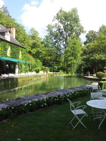 Manoir d'Hautegente: la rivière