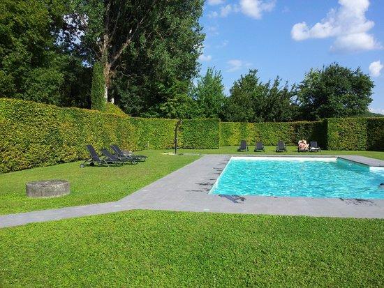 Manoir d'Hautegente: piscine