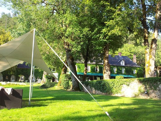 Manoir d'Hautegente: le parc