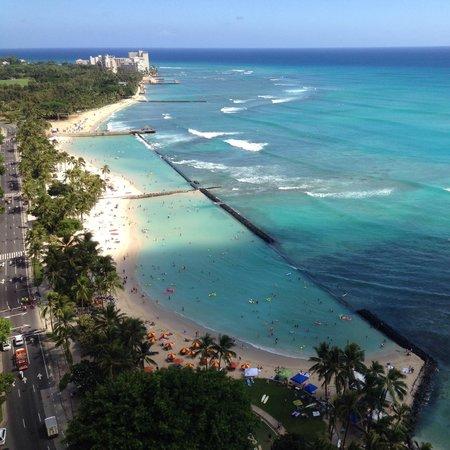 Hyatt Regency Waikiki Resort & Spa: 眺めは最高です