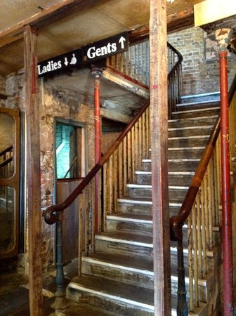 Wilton's Music Hall: The 'grand' staircase