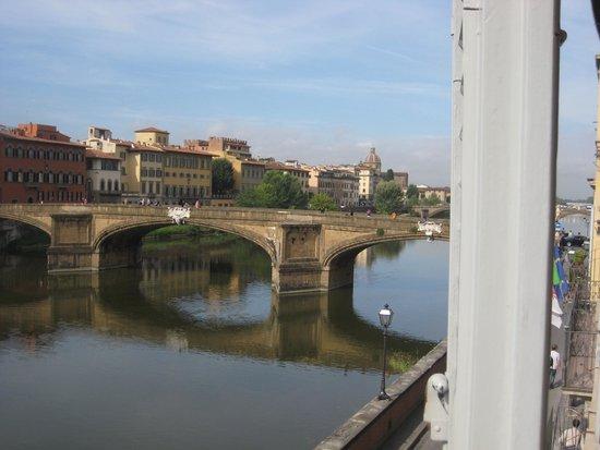 Hotel Berchielli : uitzicht vanuit kamer