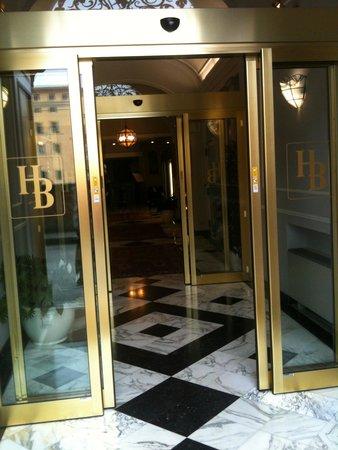 Hotel Berchielli: entree