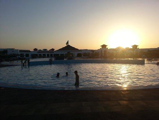 Fantazia Resort: tramonto