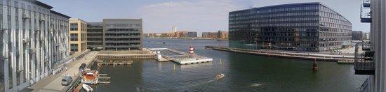 Copenhagen Island Hotel: View