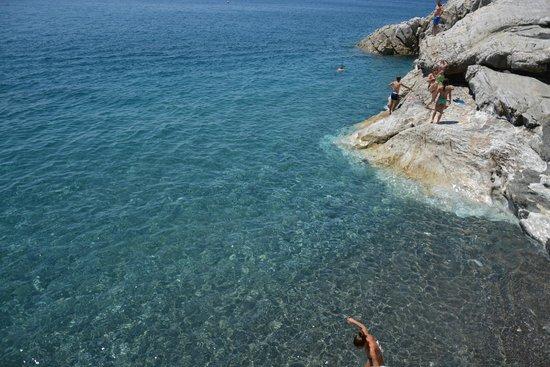 Spiaggia di Palombaia: La Palombaia