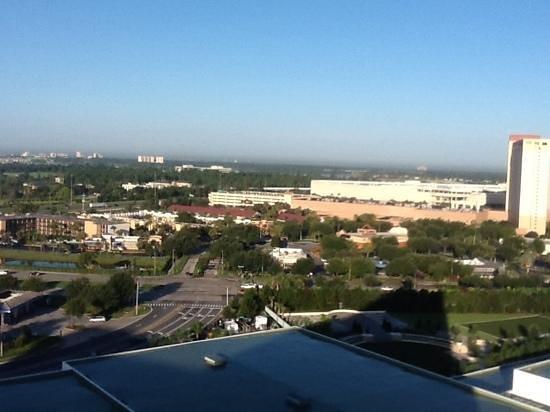 Hilton Orlando: uitzicht
