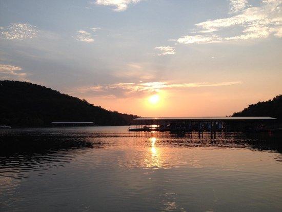 Silverleaf Ozark Mountain Resort: Sunset