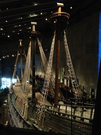 Vasa-Museum: Шикарный корабль