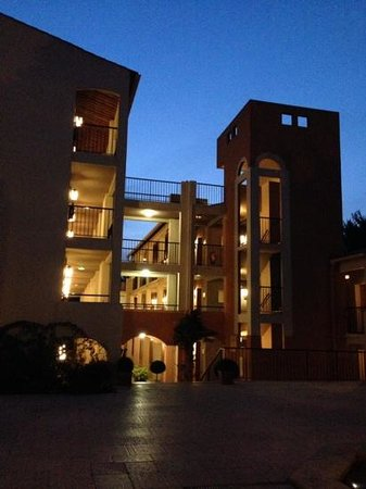 Club Med Opio Provence : les batiments