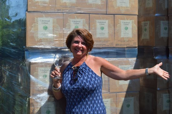 Cakebread Cellars: Joined the Cakebread wine club!