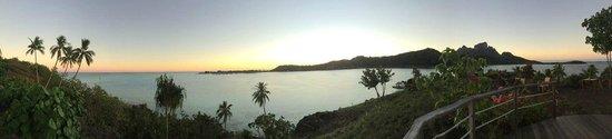 "Sofitel Bora Bora Private Island : Vista dal ""view point"""