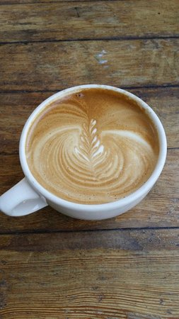 The Flatiron: Flatiron Latte - Perfect!