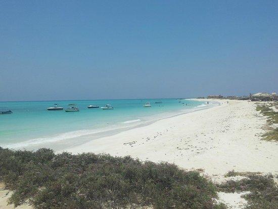 Sheraton Djibouti Hotel: Sheraton Beach sur Ile Mouchat