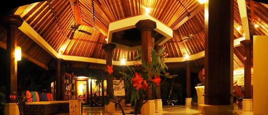 Palm Garden Amed Beach & Spa Resort : Palm Garden Amed Lobby