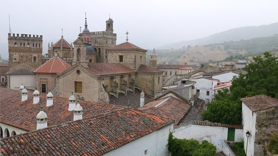 Parador de Guadalupe : View from our room