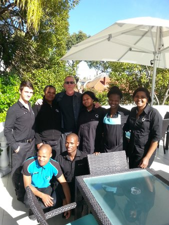 Glen Boutique Hotel & Spa: Hotel Staff