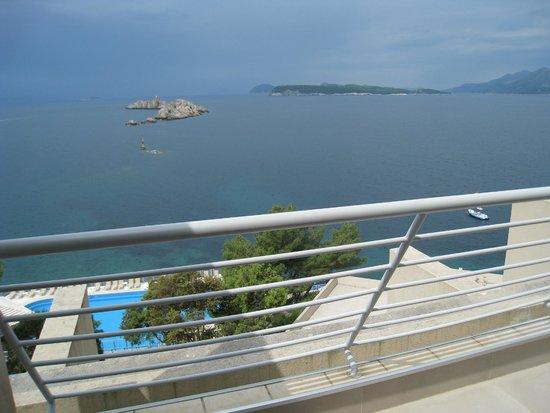 Hotel Dubrovnik Palace : バルコニー