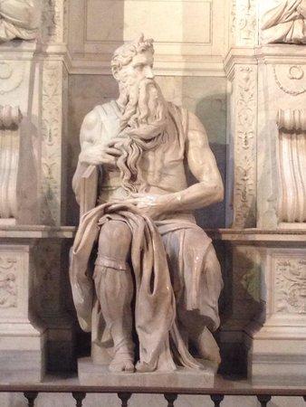 San Pietro in Vincoli: Il Mosè di Michelangelo Buonarroti