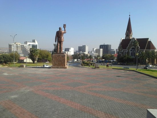 National Museum of Namibia: A view from the National Museum