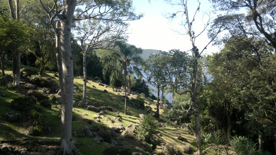 Costa da Lagoa: Trecho da trilha