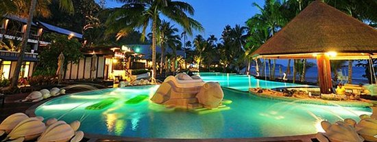 The Aiyapura Koh Chang: Night pool