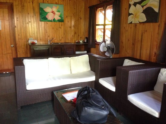 Uprising Beach Resort: Private rooms