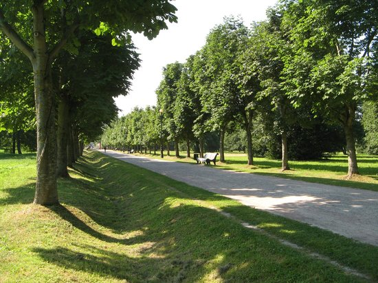 An alley in the Kadriorg Park