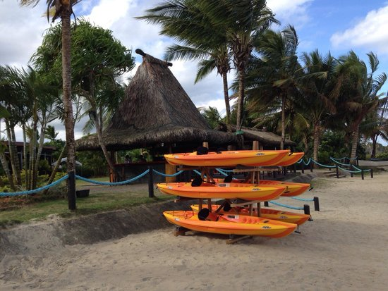 Uprising Beach Resort: Free kayaking