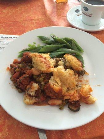 Little Phatisserie: Great Vegan Spicy Sausage Shepherds Pie - so tasty (thank you) - 07/08/2014