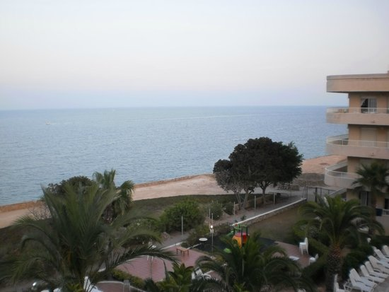 Palmera Beach Apartments: Sea view