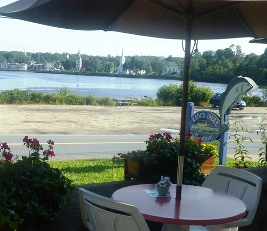 Kedy's Inlet: View from indoor window seat