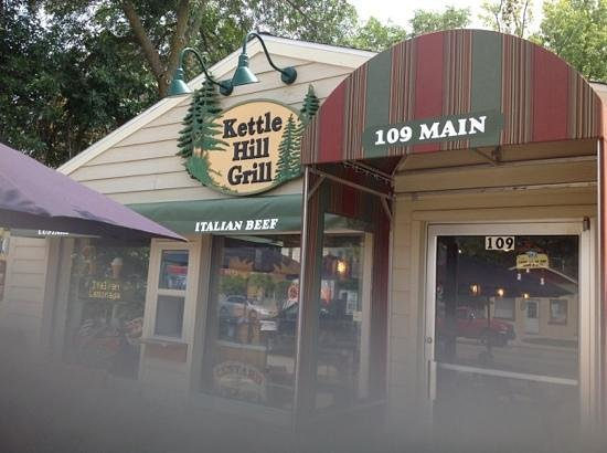 Palmyra, WI: Kettle Hill Grill entrance