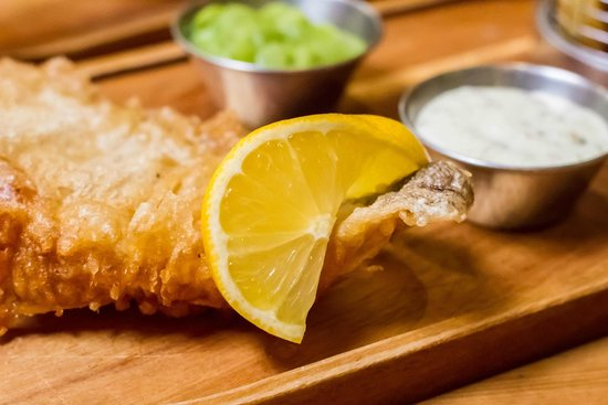 Orange Tree: Fish & Chips.. one of our most popular dishes.