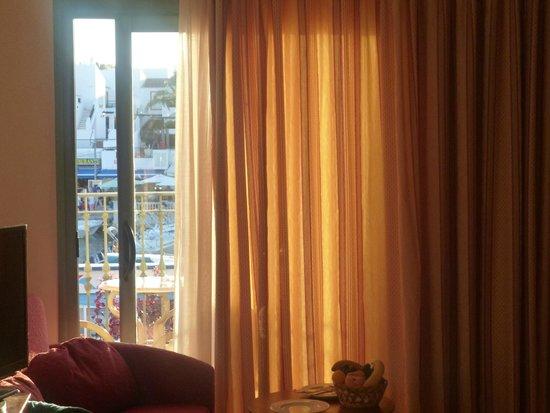 Valentín Star Hotel: foto dall'interno della camera vista porto