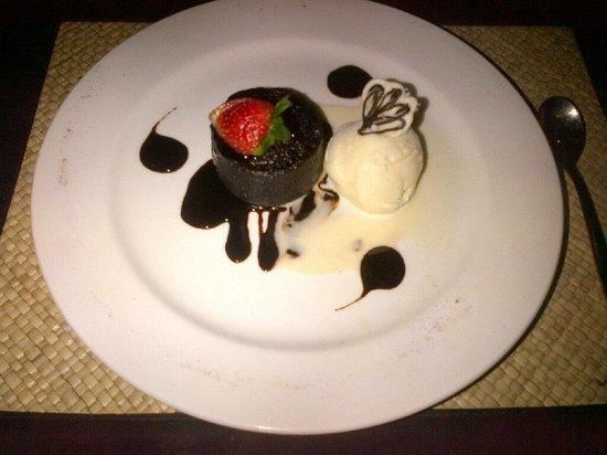 Hitana: Chocolate Lava Cake