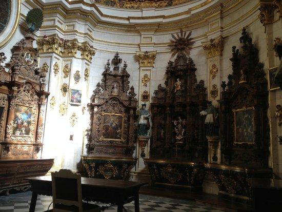 Catedral de Burgos: Capilla lateral Catedral de Toledo