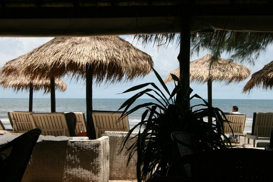 The Secret Garden at Otres Beach : la vue depuis le restaurant