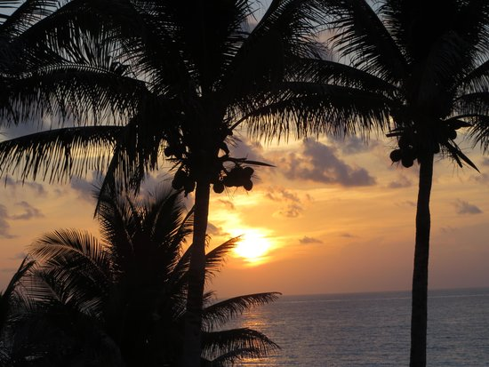 Grand Oasis Sens: Morning sunrise