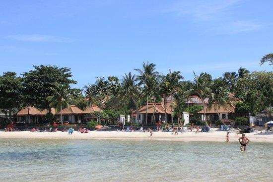 The Briza Beach Resort Samui: hotel dal mare