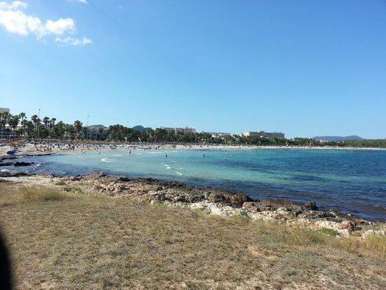 Universal Hotel Perla: spiaggia