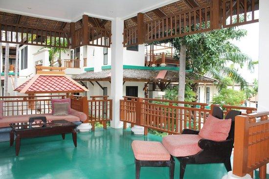 The Briza Beach Resort Samui : balcone privato