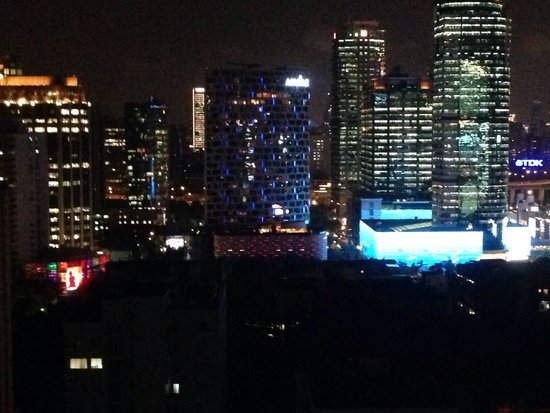 Fraser Residence Shanghai : City at night